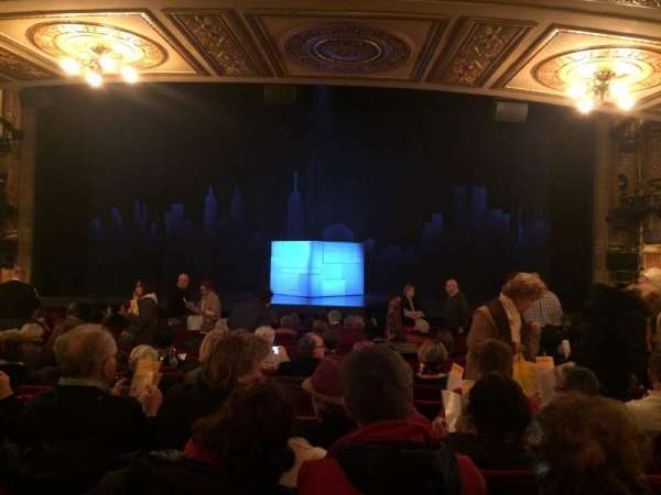 Walter Kerr Theatre, section: Orch Center, row: R, seat: 101