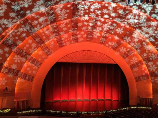 Radio City Music Hall, section: 2nd Mezzanine 5, row: A, seat: 510