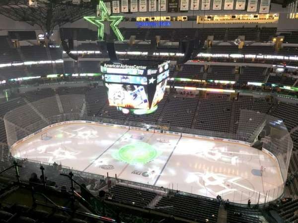 American Airlines Center, section: 324, row: M