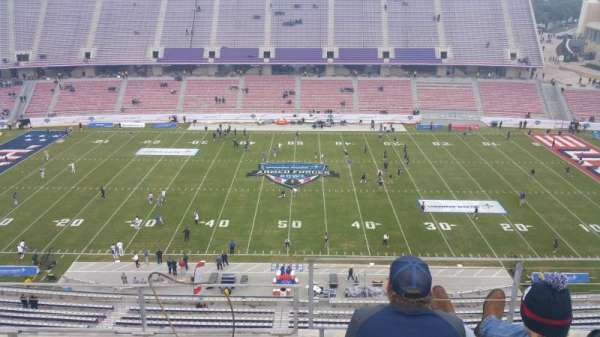 Amon G. Carter Stadium, section: 306, row: C, seat: 8