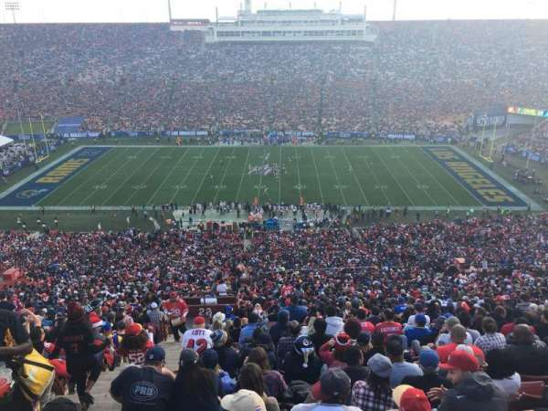 Los Angeles Memorial Coliseum, section: 22H, row: 93, seat: :05