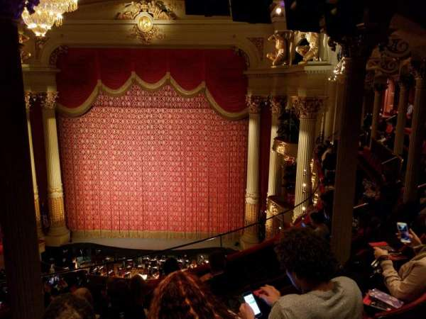 Academy of Music, section: Family Circle D, row: F, seat: 8