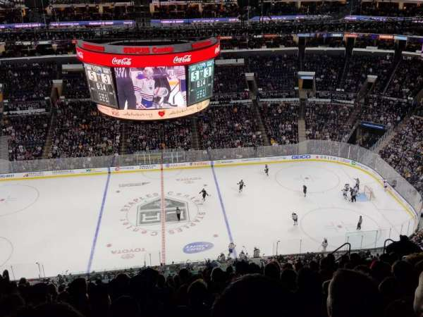 Staples Center, section: 301, row: 15, seat: 10