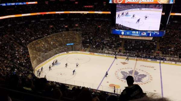 Scotiabank Arena, section: 309, row: 14, seat: 7