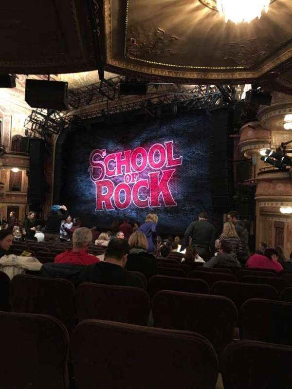 Winter Garden Theatre, section: Orchestra R, row: S, seat: 30-34