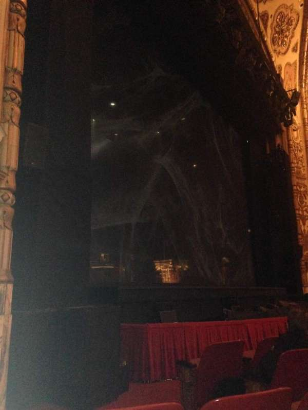 Cadillac Palace Theater, section: Orchestra L, row: E, seat: 23