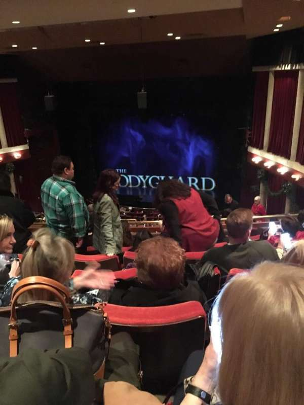 Paper Mill Playhouse, section: Mezzanine, row: HH, seat: 14