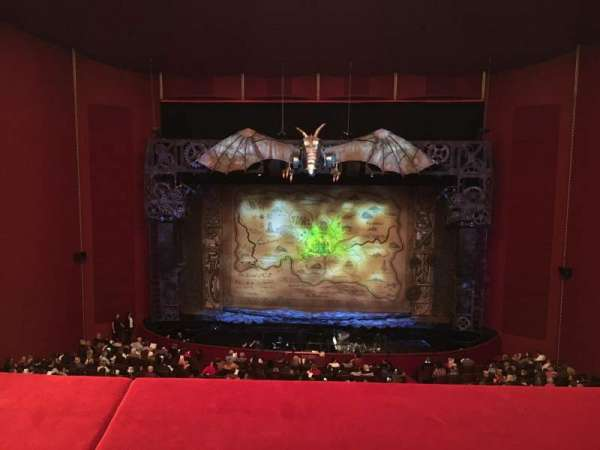 The Kennedy Center Opera House, section: Tier 1 C, row: A, seat: 205