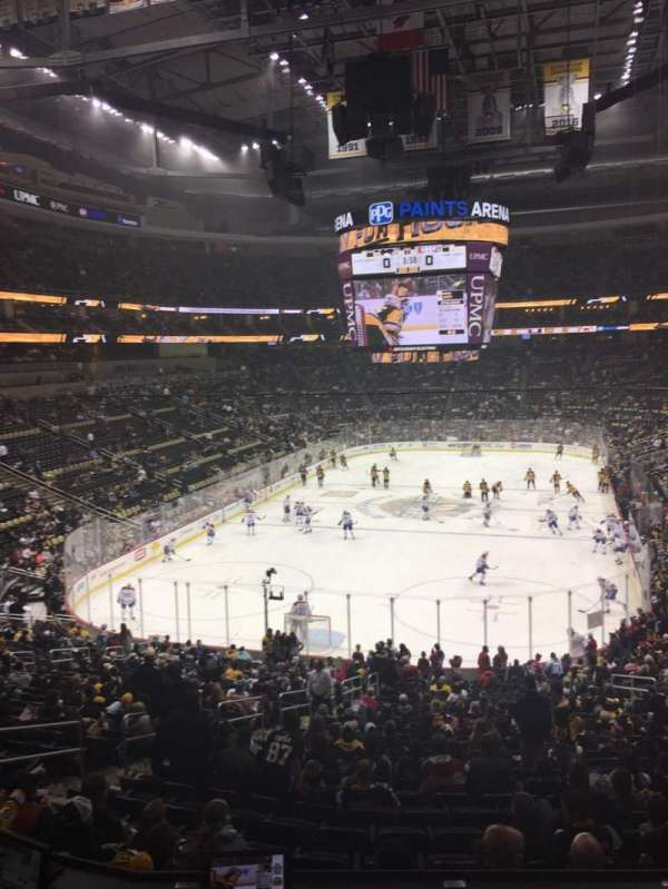 PPG Paints Arena, section: Loge Box 11