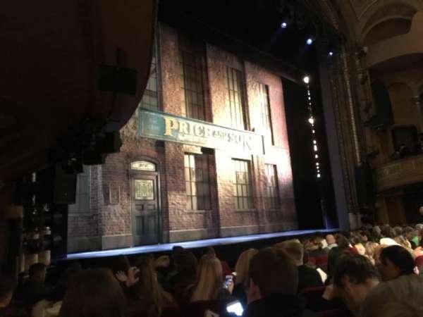 Al Hirschfeld Theatre, section: Orchestra L, row: L, seat: 7