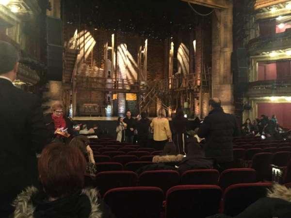 CIBC Theatre, section: Orchestra L, row: R, seat: 9