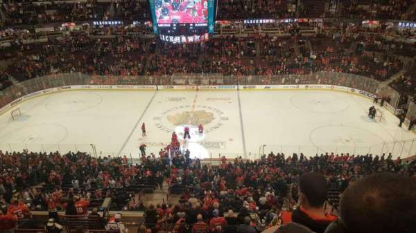 United Center, section: 334, row: 3, seat: 4