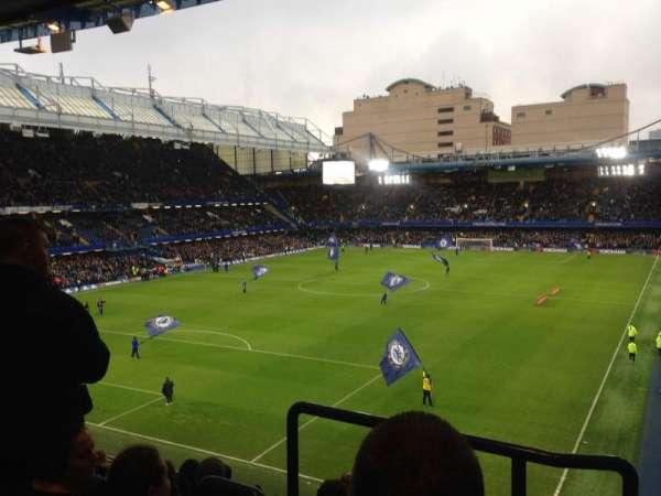 Stamford Bridge, section: Matthew Harding upper 9, row: H, seat: 323