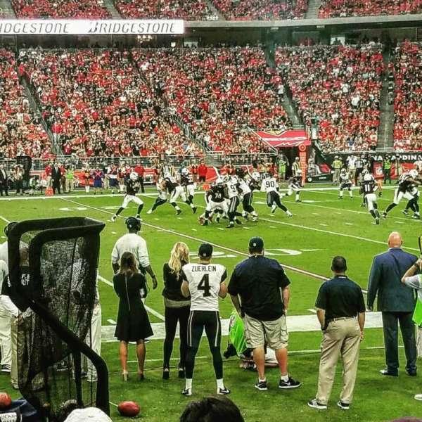 State Farm Stadium, section: 127, row: 5, seat: 3