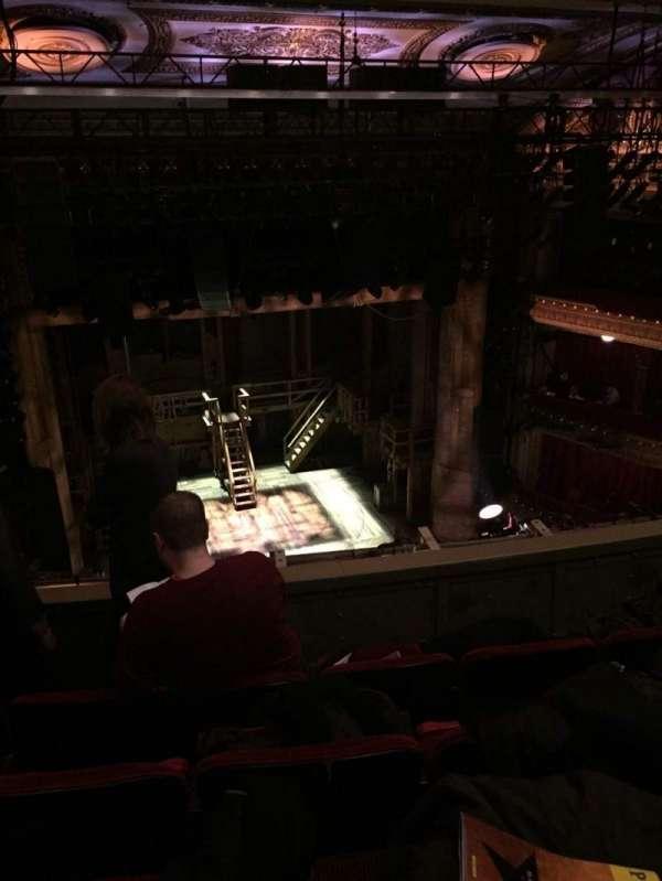 CIBC Theatre, section: Balcony LC, row: D, seat: 417