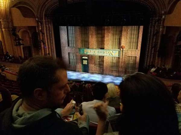 Al Hirschfeld Theatre, section: Mezz, row: K, seat: 4