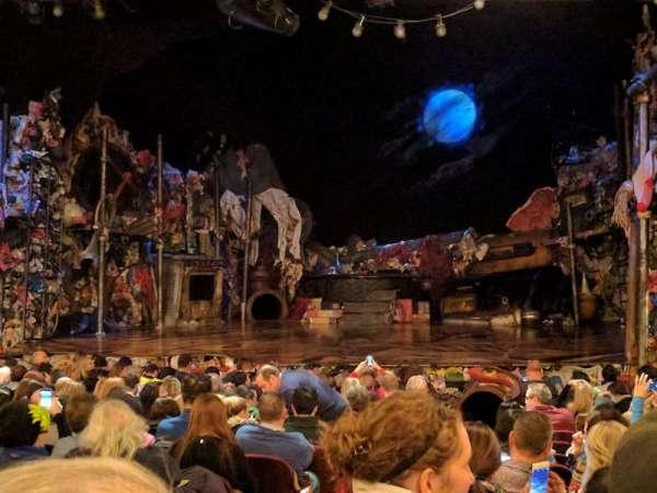Neil Simon Theatre, section: Orchestra, row: R, seat: 2
