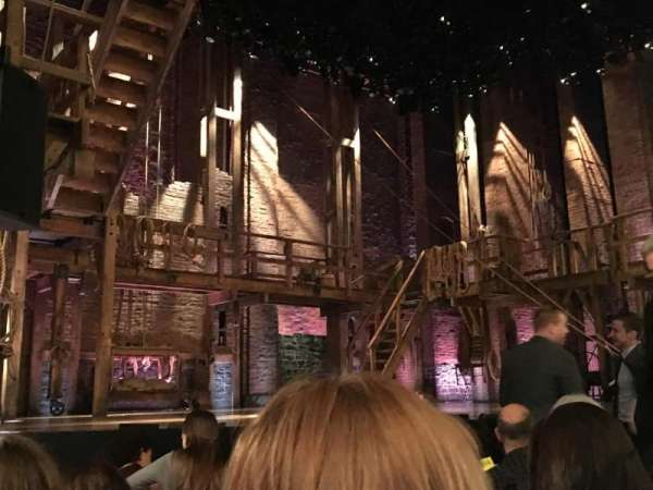 Richard Rodgers Theatre, section: Orchestra L, row: E, seat: 13