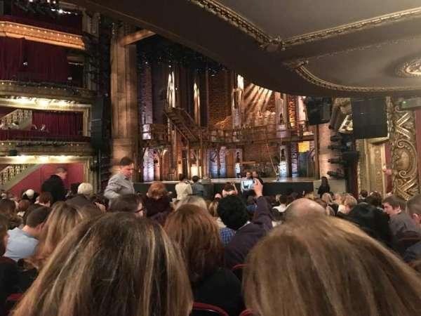 CIBC Theatre, section: Orchestra L, row: R, seat: 22