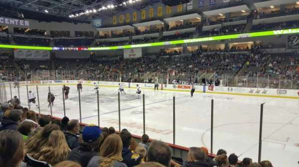 Huntington Center, section: 116, row: h, seat: 2