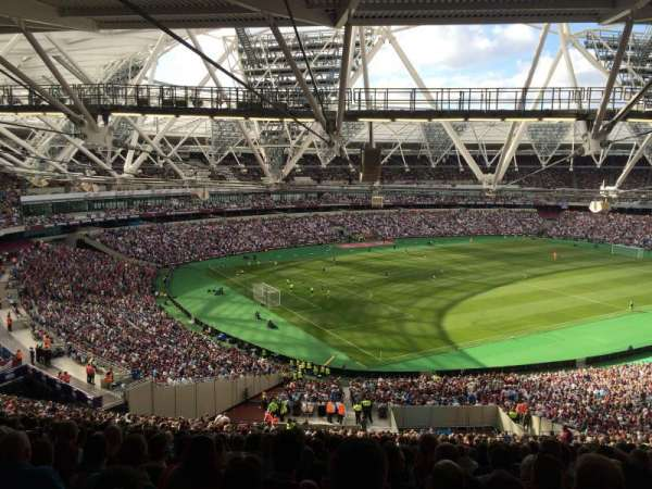 London Stadium, section: 229, row: 69, seat: 664