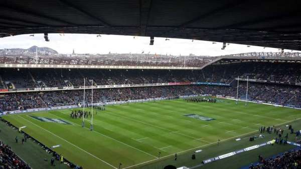 Murrayfield Stadium, section: W40, row: RR, seat: 16