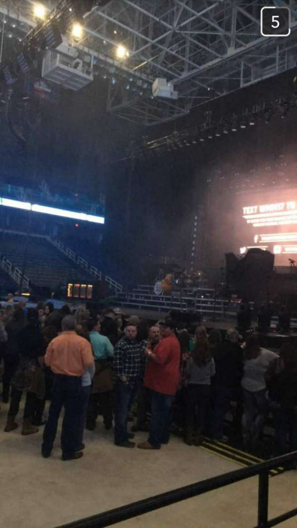 Greensboro Coliseum, section: 125, row: D, seat: 12