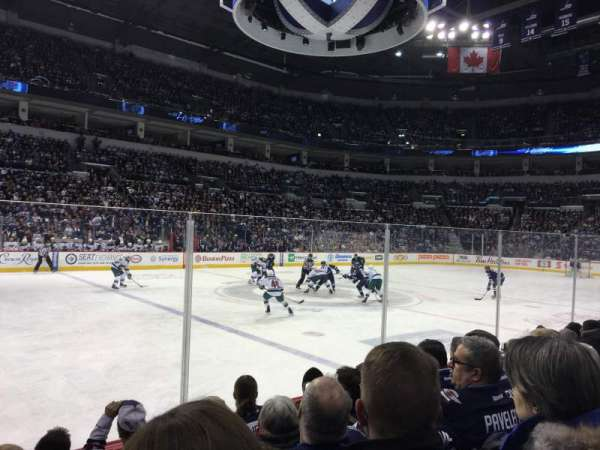 Bell MTS Place, section: 107, row: 5