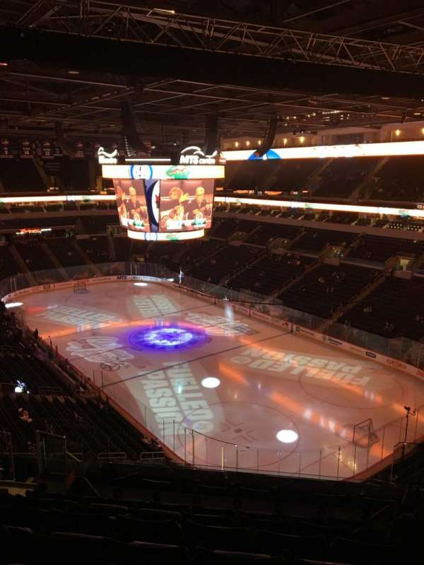 Bell MTS Place, section: 316, row: 7
