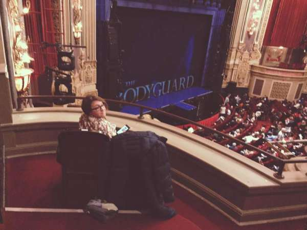 Nederlander Theatre (Chicago), section: Loge - Box 1, row: A, seat: 375