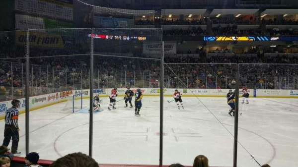 Huntington Center, section: 108, row: E, seat: 20