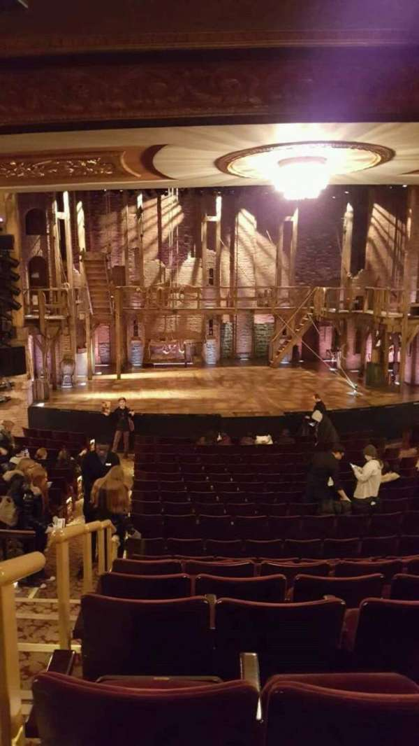 Richard Rodgers Theatre, section: Orchestra C, row: S, seat: 112