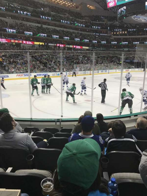 American Airlines Center, section: 122, row: G, seat: 8