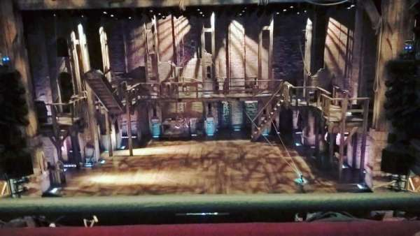 Richard Rodgers Theatre, section: Mezzanine C, row: A, seat: 106