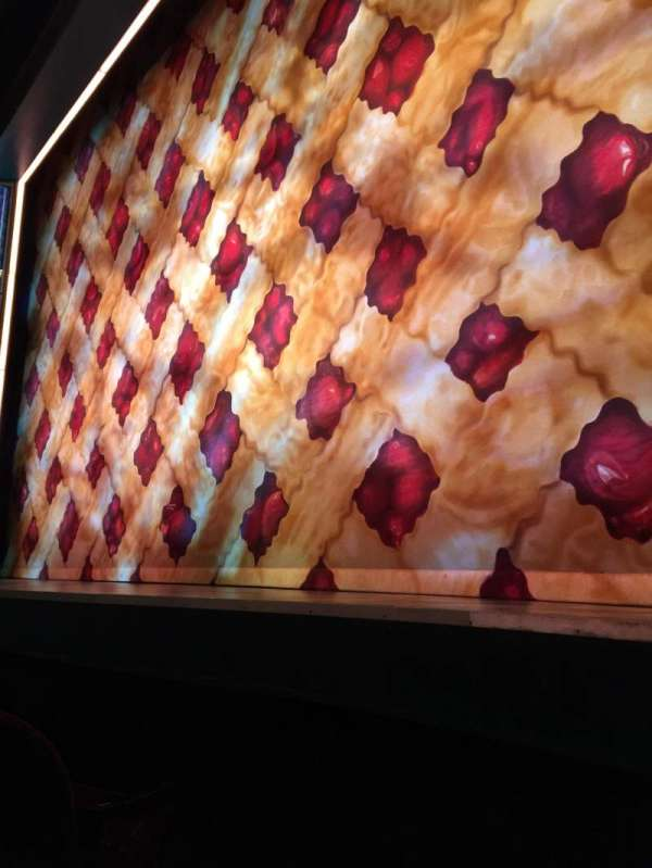 Brooks Atkinson Theatre, section: Orchestra R, row: AA, seat: 4