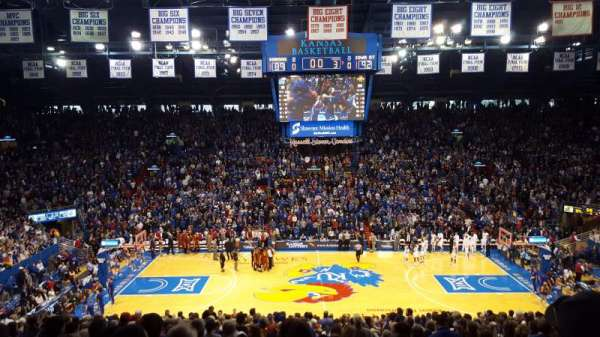 Allen Fieldhouse, section: 7