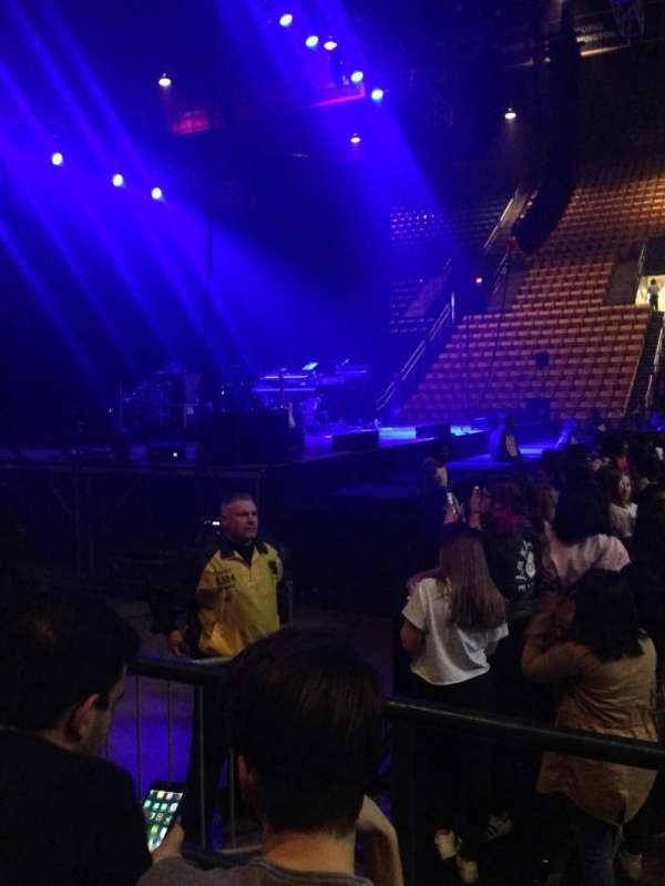 Wells Fargo Center, section: 115, row: 2, seat: 18