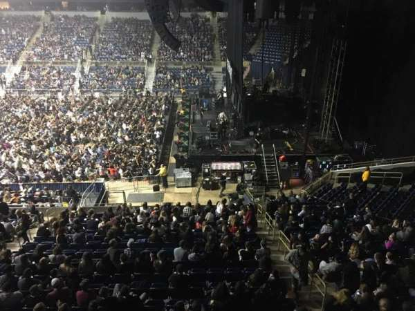 Petersen Events Center, section: L220, row: A, seat: 5