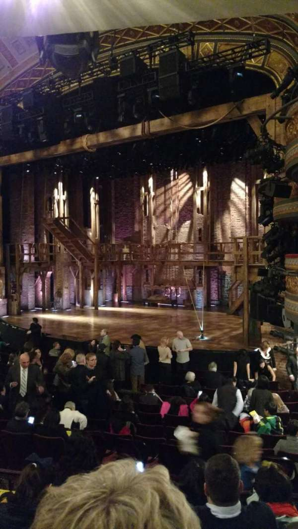 Richard Rodgers Theatre, section: Orchestra R, row: P, seat: 28
