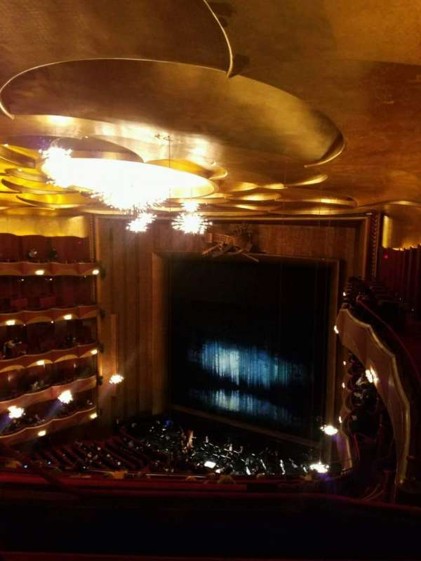 Metropolitan Opera House - Lincoln Center, section: Family Circle, row: C, seat: 10
