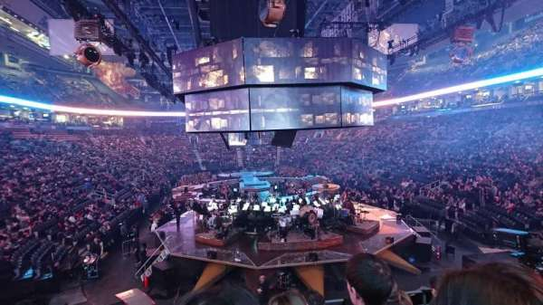 Scotiabank Arena, section: 114, row: 22, seat: 6
