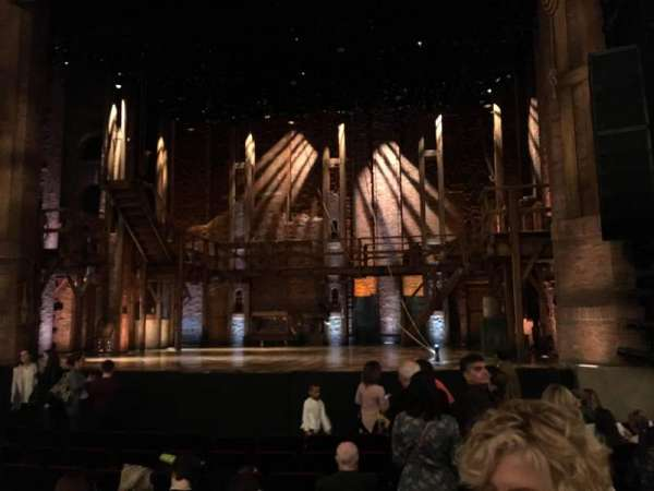 CIBC Theatre, section: Orchestra R, row: U, seat: 2,4