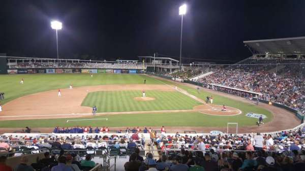 Hammond Stadium, section: 214, row: 302, seat: 19