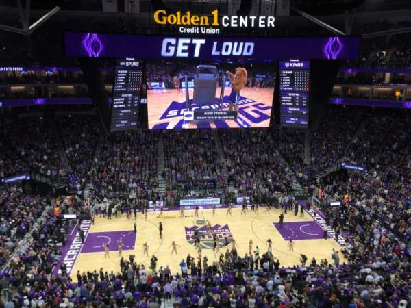 Golden 1 Center, section: 218, row: A, seat: 23-24