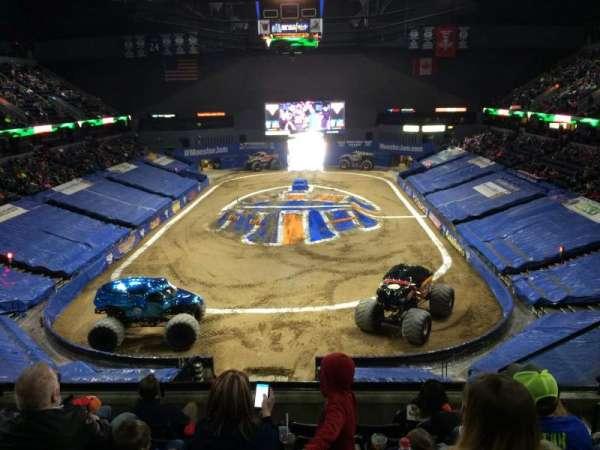Van Andel Arena, section: 201, row: F