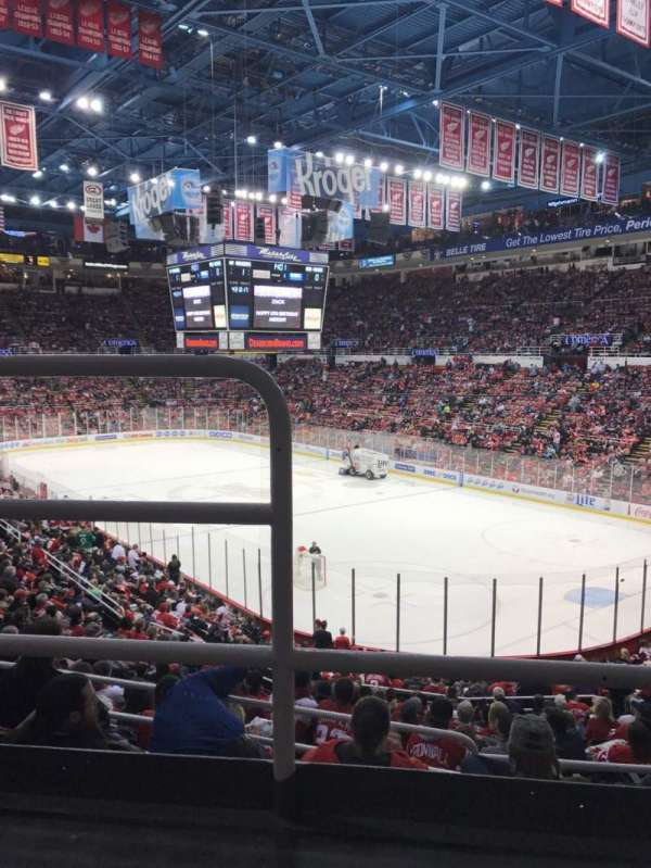 Joe Louis Arena, section: 217, row: 2, seat: 16