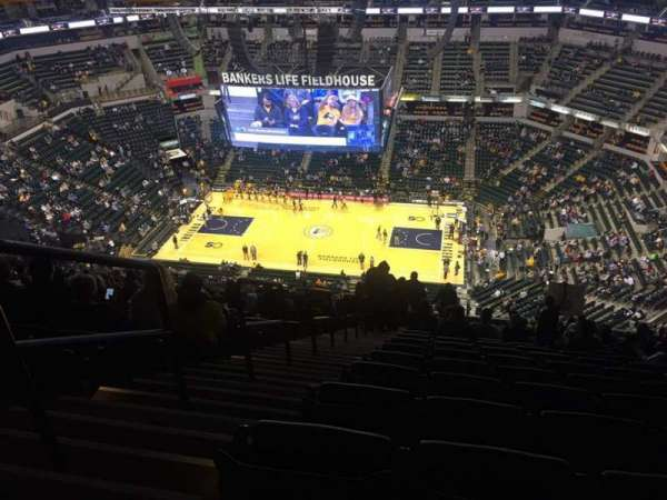 Bankers Life Fieldhouse, section: 223, row: 22, seat: 16