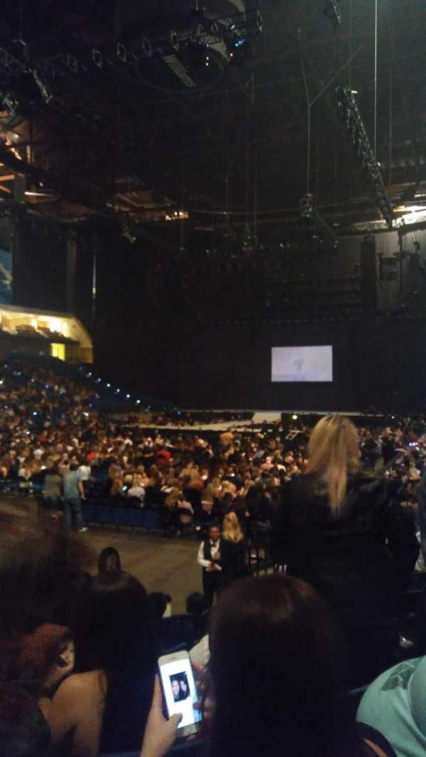 BOK Center, section: 107, row: H, seat: 11