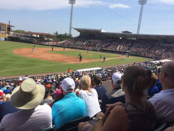 Joker Marchant Stadium, section: 215, row: L, seat: 9