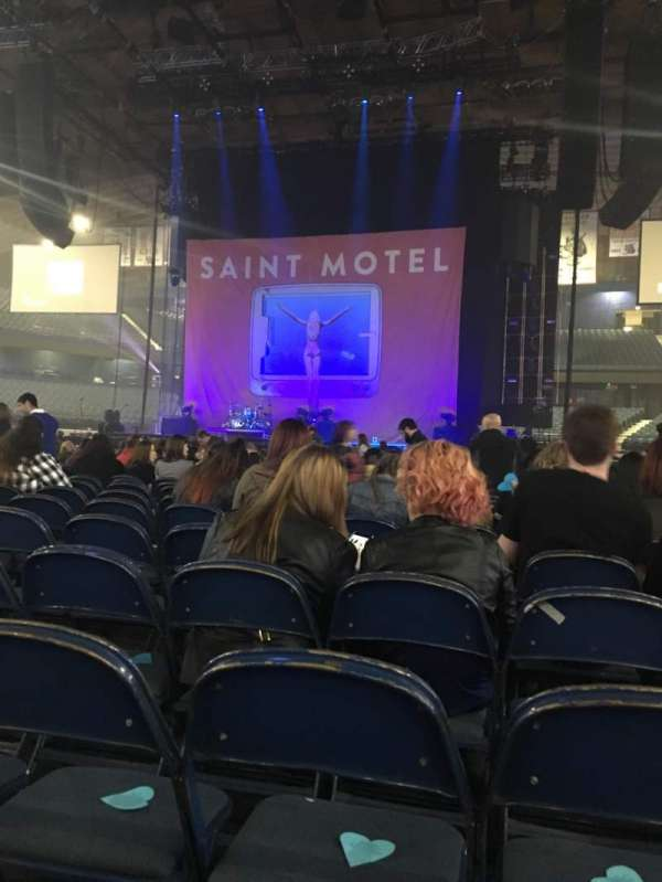 Allstate Arena, section: 3, row: 26, seat: 17